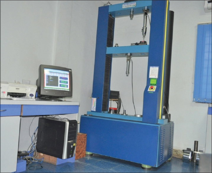 Figure 3: Universal testing machine